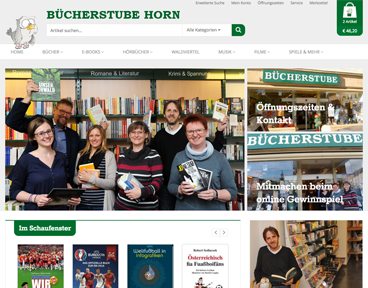Bücherstube Horn Referenz
