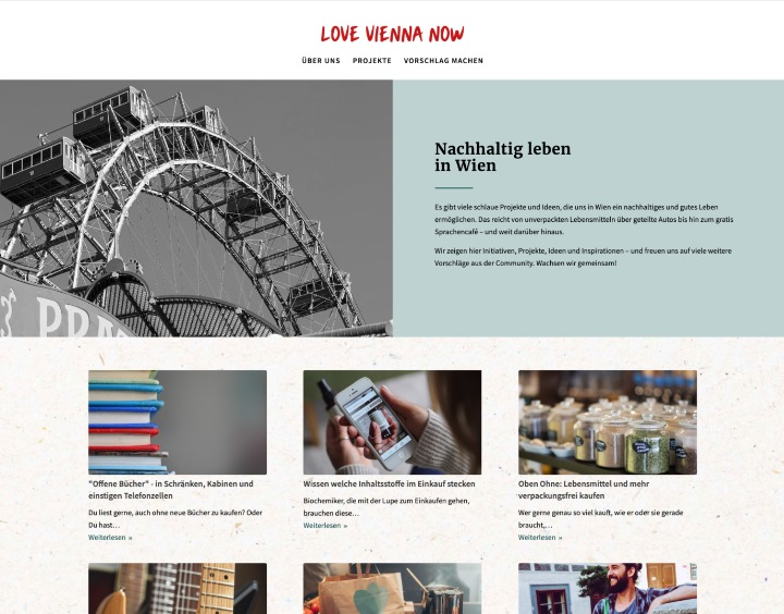 Website Love Vienna Now